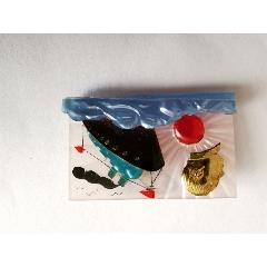 大海航行靠舵手塑料立体像章-¥150 元_像章徽章_7788网