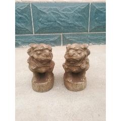 清代石雕青石�{子一��-¥500 元_石�{/石雕塑_7788�W