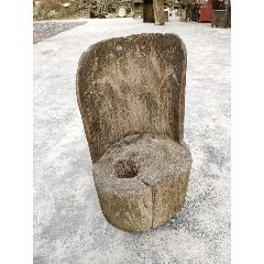 民國少見形狀整木小凳子(se70801344)_7788收藏__收藏熱線