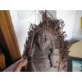 一个造形漂亮形像可爱的竹根雕刻的老渔翁摆件-¥430 元_其他竹制品_7788网
