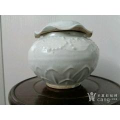 釉荷叶纹罐-¥1,980 元_白瓷/青白瓷_7788网