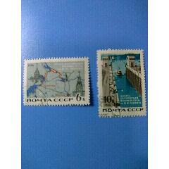 1966年蘇聯伏爾加--波羅的海列寧運河等郵票2全銷(se71311607)_7788舊貨商城__七七八八商品交易平臺(www.799868.live)