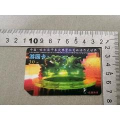 哈爾濱冰雪大世界磁卡票(se71346172)_7788收藏__收藏熱線