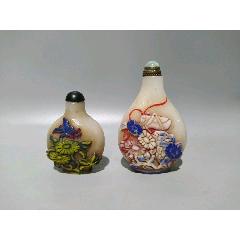 兩個鼻煙壺-¥800 元_舊鼻煙壺_7788網