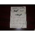 1952年印【美豹式噴氣戰斗機】有粘貼,四開面-¥80 元_宣傳畫_7788網