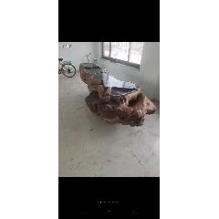 收藏多年的根雕茶臺,尺寸如圖,重1000斤左右,特價不議(se73262640)_7788舊貨商城__七七八八商品交易平臺(7788.com)