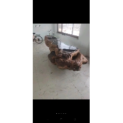 代友出收藏多年的根雕茶臺,尺寸如圖,重1000斤左右,特價不議(se73714369)_7788舊貨商城__七七八八商品交易平臺(7788.com)