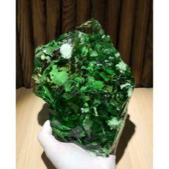 綠色火山琉璃水晶原石擺件,7斤多,包真(se74269505)_7788舊貨商城__七七八八商品交易平臺(7788.com)