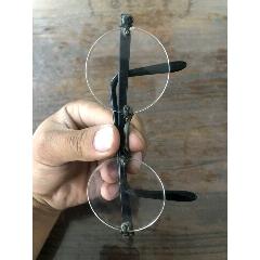 鄉下拆遷收來的老石頭鏡老平光水晶眼鏡一副、品相完好可以正常使用、測光看有兩個太(se75599576)_7788舊貨商城__七七八八商品交易平臺(7788.com)
