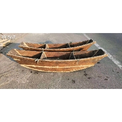 收的一對小船農家樂山莊博物館展示(se76163010)_7788舊貨商城__七七八八商品交易平臺(7788.com)