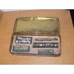 滿洲國時期日本制[牙齒模型]五聯六十六顆,材質是玉琢.(se76691807)_7788舊貨商城__七七八八商品交易平臺(7788.com)