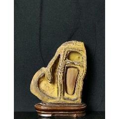 鄉下偶的黃河石擺件,保存完好,收藏擺放佳品。(se76927065)_7788舊貨商城__七七八八商品交易平臺(7788.com)