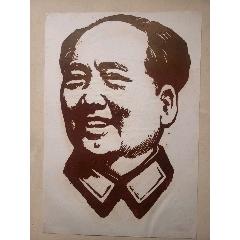 毛主席像手繪稿(se77059643)_7788舊貨商城__七七八八商品交易平臺(7788.com)