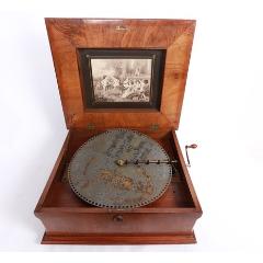 上世紀初德國Polyphon西洋古董八音盒歐洲老式手搖八音盒音樂盒(se77108737)_7788舊貨商城__七七八八商品交易平臺(7788.com)