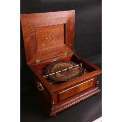 上世紀德國Monopol古董八音盒雙排音梳古董機械音樂盒(se77111013)_7788舊貨商城__七七八八商品交易平臺(7788.com)
