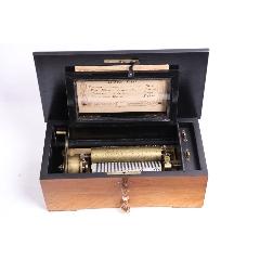 瑞士十九世紀古董八音盒滾筒八音盒古董音樂盒音樂柜4曲83音梳(se77174961)_7788舊貨商城__七七八八商品交易平臺(7788.com)