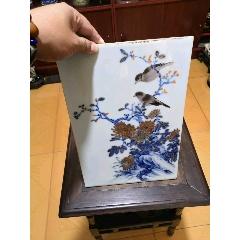花鳥瓷板(se77183937)_7788舊貨商城__七七八八商品交易平臺(7788.com)