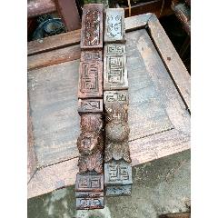 木雕二個(se77223710)_7788舊貨商城__七七八八商品交易平臺(7788.com)
