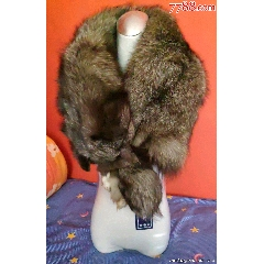 黑灰色狐貍圍脖包郵(se77253563)_7788舊貨商城__七七八八商品交易平臺(7788.com)