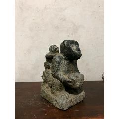 明代,青石石猴一件,造型獨特,皮殼包漿一流,寓意好。尺寸如圖(se77254193)_7788舊貨商城__七七八八商品交易平臺(7788.com)