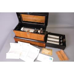 19世紀瑞士MermodFrères滾筒八音盒古董八音盒帶4個音樂滾筒(se77258892)_7788舊貨商城__七七八八商品交易平臺(7788.com)