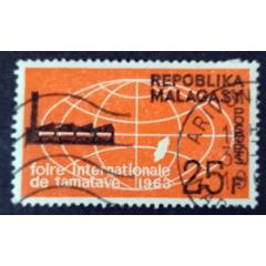馬達加斯加1963年信銷郵票國際博覽會、馬達加斯加地圖1全(se77277736)_7788舊貨商城__七七八八商品交易平臺(7788.com)