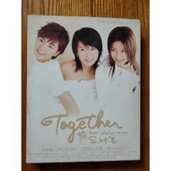 SHES.H.E-TOGETHER新歌+精選(TW版CD+VCD)~首版(se77331920)_7788舊貨商城__七七八八商品交易平臺(7788.com)
