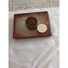 銅印章,底座是有機玻璃的(se77345803)_7788舊貨商城__七七八八商品交易平臺(7788.com)