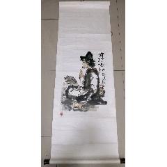 上海著名畫家~王叔波先生作品《濟癲和尚》(se77358081)_7788舊貨商城__七七八八商品交易平臺(7788.com)