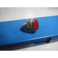 一件純銀鑲嵌瑪瑙戒指(se77377743)_7788舊貨商城__七七八八商品交易平臺(7788.com)