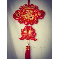 新年裝飾品掛件~吉祥如意雙魚(se77378759)_7788舊貨商城__七七八八商品交易平臺(7788.com)