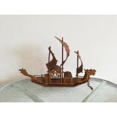 古典美觀的文革竹制龍船模型(se77379834)_7788舊貨商城__七七八八商品交易平臺(7788.com)