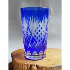 早期寶石藍磨花玻璃杯水杯ZYTA980033(se77401816)_7788舊貨商城__七七八八商品交易平臺(7788.com)