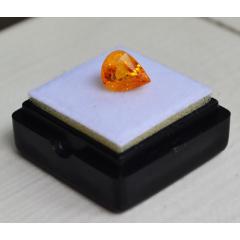 純黃色藍寶石斯里蘭卡純天然水滴型3.05克拉藍寶石(se77403883)_7788舊貨商城__七七八八商品交易平臺(7788.com)