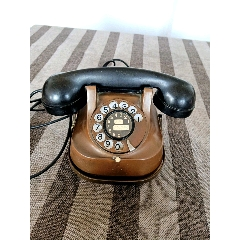 多網唯一《帶提把的紫銅古典電話機》1955年歐洲ATEA公司出品(se77413183)_7788舊貨商城__七七八八商品交易平臺(7788.com)