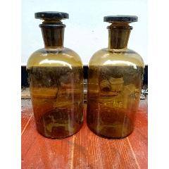 50年代漢川款玻璃瓶兩個(se77415846)_7788舊貨商城__七七八八商品交易平臺(7788.com)