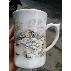 手繪雪景茶杯(se77415968)_7788舊貨商城__七七八八商品交易平臺(7788.com)