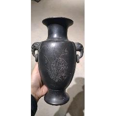 紫砂獸耳吊環瓶(se77422764)_7788舊貨商城__七七八八商品交易平臺(7788.com)