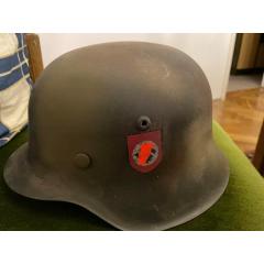 二戰德國M42ss黨衛軍鋼盔(se77423046)_7788舊貨商城__七七八八商品交易平臺(7788.com)