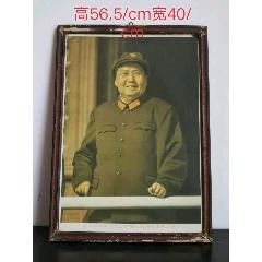 偉大領袖毛主席膠板宣傳畫,《雙耳笑咪咪》品相好,保老保真。(se77425533)_7788舊貨商城__七七八八商品交易平臺(7788.com)