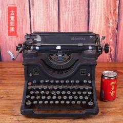 西洋古董意大利Olivetti�C械老式英文打字�C功能正常1940年代(se77426606)_7788�f�商城__七七八八商品交易平�_(7788.com)