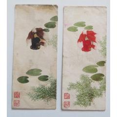 早期金魚畫片2枚,木板水印(se77430525)_7788舊貨商城__七七八八商品交易平臺(7788.com)