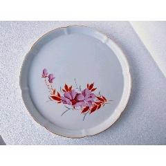 很漂亮的手繪花卉瓷茶盤(se77439015)_7788舊貨商城__七七八八商品交易平臺(7788.com)