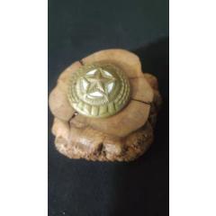 上世紀50年代朝鮮老式銅質帽徽。第2組57號(se77441097)_7788舊貨商城__七七八八商品交易平臺(7788.com)