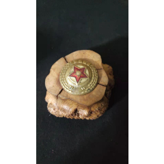 上世紀50年代朝鮮老式銅質帽徽。第6組61號(se77441179)_7788舊貨商城__七七八八商品交易平臺(7788.com)