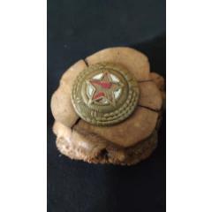 上世紀50年代朝鮮老式銅質帽徽。第9組64號(se77441256)_7788舊貨商城__七七八八商品交易平臺(7788.com)