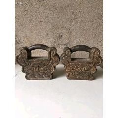 蝴蝶型石鎖一對可做擺件也可強身健體喜歡的結緣(se77444929)_7788舊貨商城__七七八八商品交易平臺(7788.com)