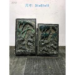 清代,青石、門兩側砌墻石雕一對(se77447102)_7788舊貨商城__七七八八商品交易平臺(7788.com)
