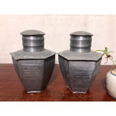 精美老錫茶葉罐一對(se77447562)_7788舊貨商城__七七八八商品交易平臺(7788.com)