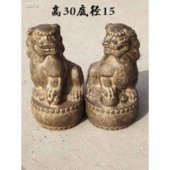 青石案頭獅一對,包漿厚重,皮殼自然,品相如圖。(se77452861)_7788舊貨商城__七七八八商品交易平臺(7788.com)